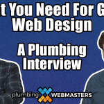 A Title Card for Plumbing Web Design