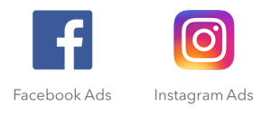 Instagram and Facebook PPC Ad Logos