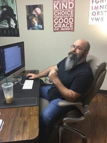 Web Developer Jason at Work