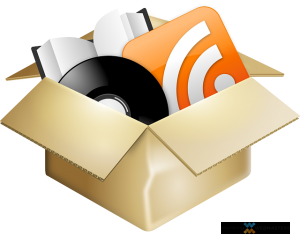a box of content related items
