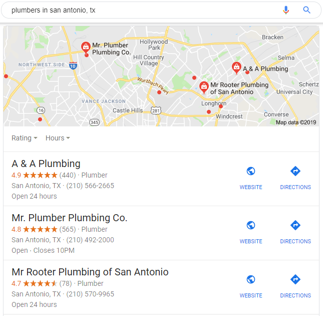 Branded SEO in the Form of a Featured Listing