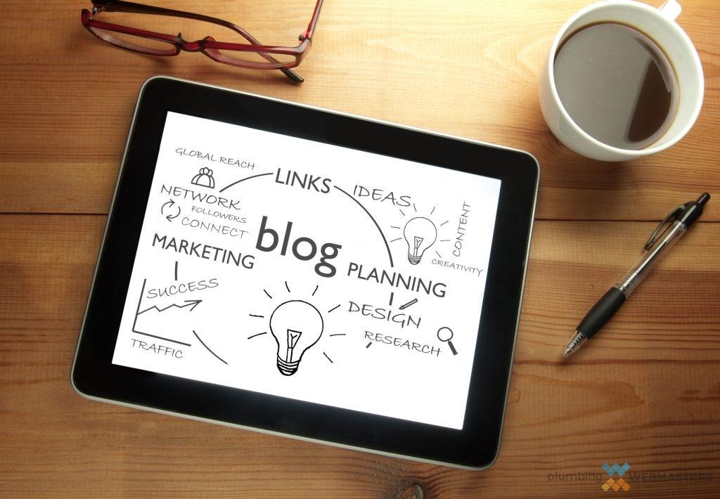 Company Blog Planning Graphic