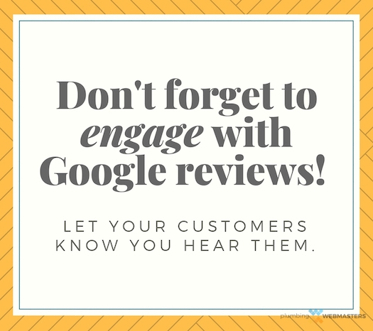 Engage With Google Reviews Graphic
