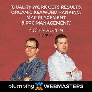 Organic SEO Boosts Your Plumbing Company's Online Conversion Rate and Bottom Line