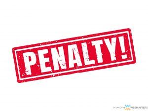 A Manual Google Penalty Reduces Plumber Organic SEO