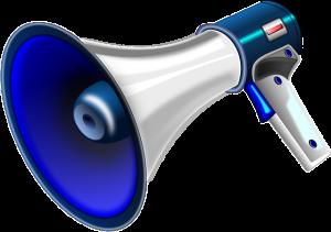 loud megaphone