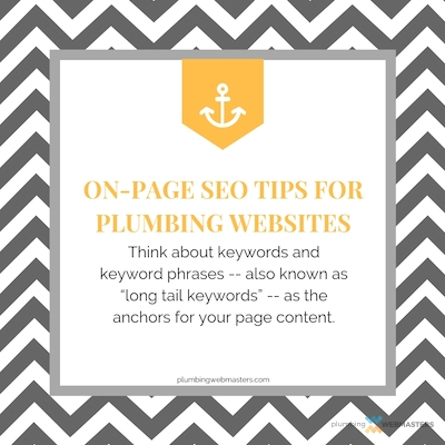 On Page SEO Tips for Plumbing Websites