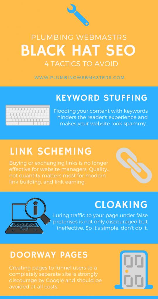 Avoiding Black-Hat SEO For Plumbers - Plumbing Webmasters