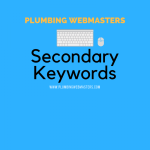 Plumber Secondary Keywords Graphic