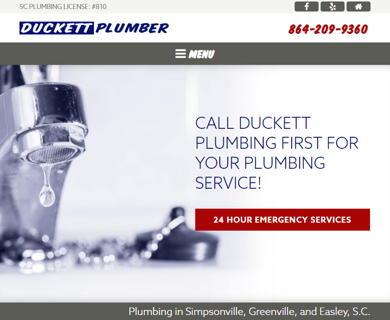 Plumber SEO WordPress Website