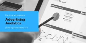Plumbing Advertising Analytics Graphic