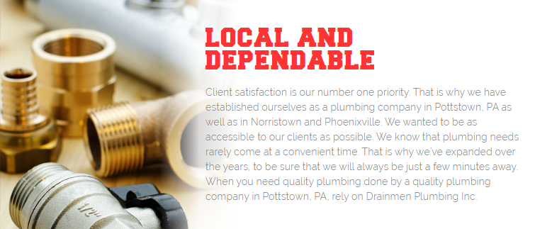 Drainmen Plumbing Inc.'s Promise of Great Customer Care