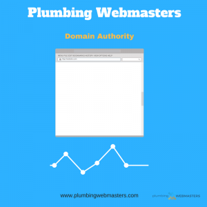 Plumbing Domain Authority Graphic
