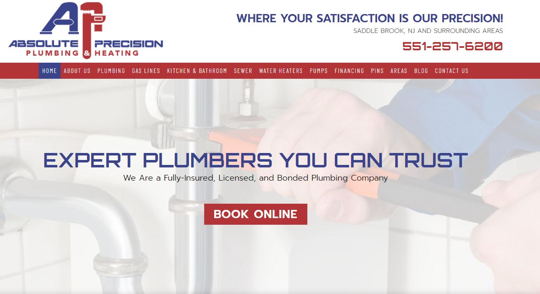 Plumbing Portfolio Example