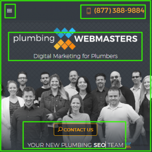 Mobile View-Plumbing Webmasters