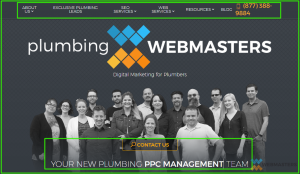 Tablet View-Plumbing Webmasters