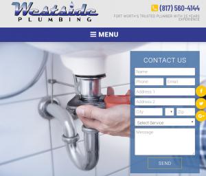 Plumbing Websites Example