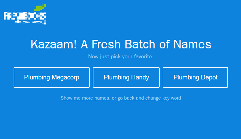 A Search for a Plumbing Company Name