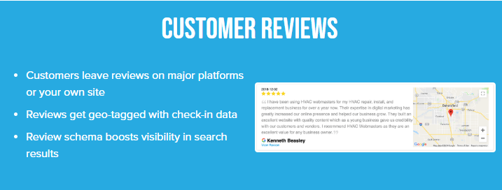 Example of Review Geotagging Through Righteous Reviews