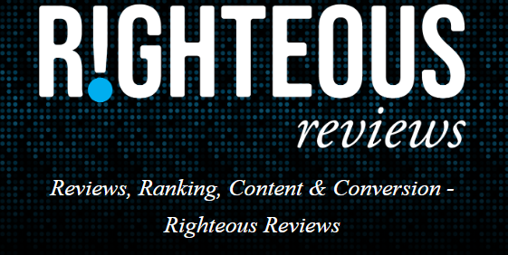 The Righteous Reviews Website Banner