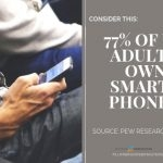 Smartphone Statistic Infographic