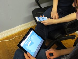 Plumbing Webmasters Employees Looking at Social Media Websites