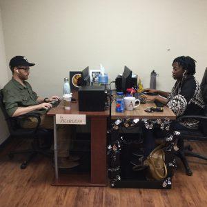 Team Members Review Plumber Campaign