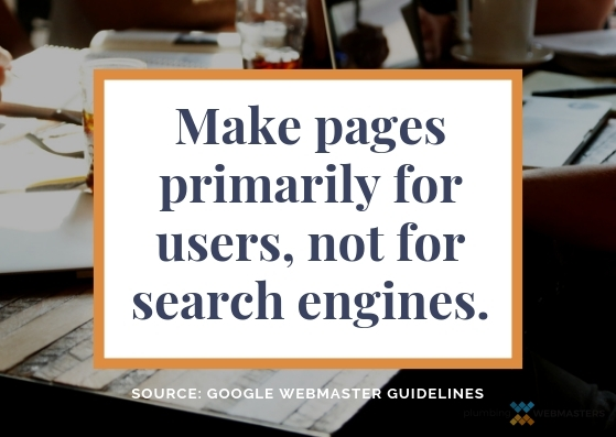 Users Vs Search Engines Graphic