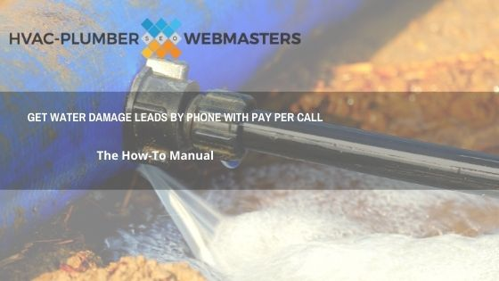 Water Damage Leads By Phone